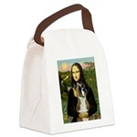 Mona & Boxer Canvas Lunch Bag