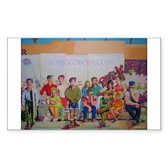 Mona & Boxer Puzzle Coasters (set of 4)