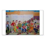 Mona & Boxer Puzzle Coasters (set of 4)