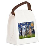 Starry / 3 Boxers Canvas Lunch Bag