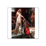 The Accolade & Boxer Square Sticker 3