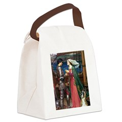 Knight & Boxer Canvas Lunch Bag