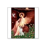 Angel/Brittany Spaniel Square Sticker 3