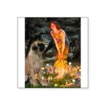 Fairies / Bullmastiff Square Sticker 3