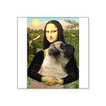 Mona /Bullmastiff Square Sticker 3