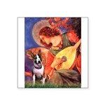 Mandolin Angel / Bull Terrier Square Sticker 3