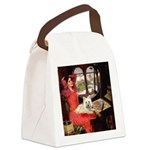 Lady (S) - Cairn Terrier 4 Canvas Lunch Bag