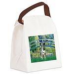 Bridge / Catahoula Leopard Dog Canvas Lunch Bag