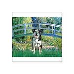 Bridge / Catahoula Leopard Dog Square Sticker 3