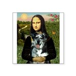 Mona's Catahoula Leopard Square Sticker 3