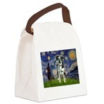 Starry / Catahoula Leopard Dog Canvas Lunch Bag