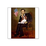 Lincoln's Cavalier Square Sticker 3