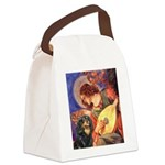 Angel (3) & Cavalier (BT) Canvas Lunch Bag