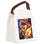 Angel (3) & Cavalier (BT) Canvas Lunch Bag
