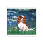 Lily Pond (#5) / Cavalier Square Sticker 3