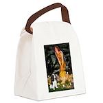 Fairies / Cavalier Canvas Lunch Bag