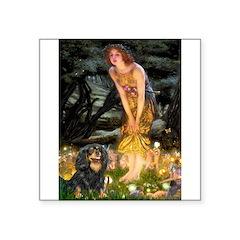"Fairies & Cavalier (BT) Square Sticker 3"" x 3"""