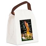 Fairies & Cavalier Canvas Lunch Bag