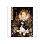The Queen's Tri Cavalier Square Sticker 3