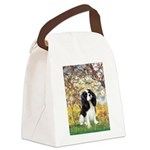 Spring & Tri Cavalier Canvas Lunch Bag