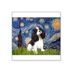 Starry Night Tri Cavalier Square Sticker 3