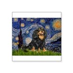 Starry Night Cavalier Square Sticker 3
