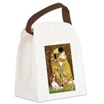 The Kiss & Cavalier Canvas Lunch Bag