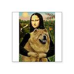 Mona /Chow Chow #1 Square Sticker 3