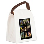 Cocker Spaniel Famous Art Comp Canvas Lunch Bag