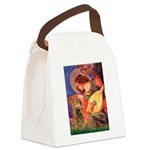 Angel (3) & Cocker (7) Canvas Lunch Bag