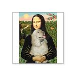 Mona Lisa /Cocker Spaniel Square Sticker 3