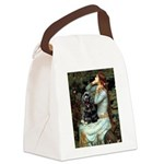 Ophelias Cocker Canvas Lunch Bag