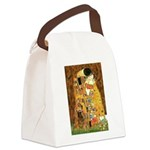 Kiss / Cocker (brn) Canvas Lunch Bag