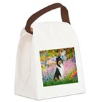 Garden / Collie Canvas Lunch Bag