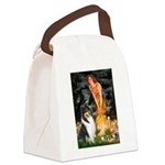 Midsummer's Eve / Collie (tri) Canvas Lunch Bag