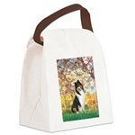 Spring / Collie Canvas Lunch Bag