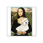 Mona's Coton de Tulear Square Sticker 3