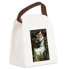 Ophelia's Dachshund Canvas Lunch Bag