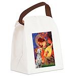 Mandolin / Dalmatian #1 Canvas Lunch Bag
