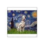 Starry /Dalmatian Square Sticker 3