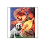 Mandolin Angel & English BD Square Sticker 3