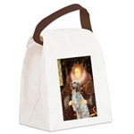 Queen / English Setter Canvas Lunch Bag