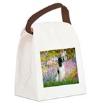 Monet's garden & Springer Canvas Lunch Bag