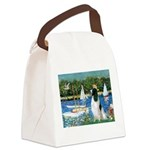 Sailboats / Eng Springer Canvas Lunch Bag