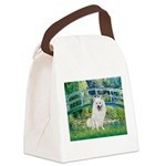 Bridge / Eskimo Spitz #1 Canvas Lunch Bag