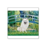 Bridge / Eskimo Spitz #1 Square Sticker 3