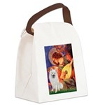 Mandolin / Eskimo Spitz #1 Canvas Lunch Bag