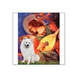 Mandolin / Eskimo Spitz #1 Square Sticker 3