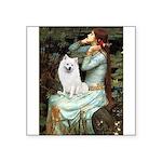 Ophelia / Eskimo Spitz #1 Square Sticker 3