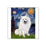 Starry / Eskimo Spitz #1 Square Sticker 3